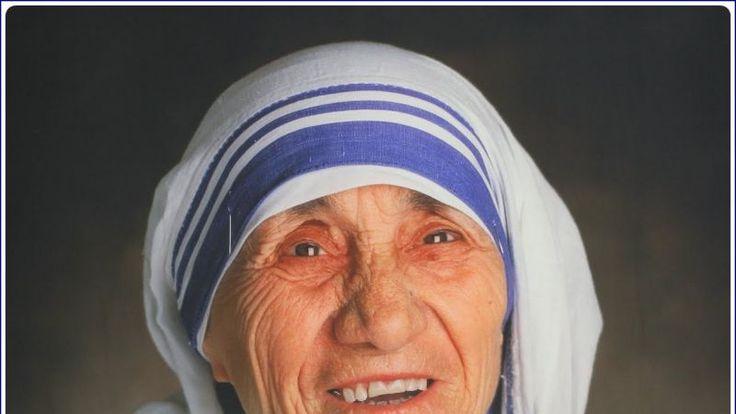 Давайте узнаем, что хочет нам сказать, известная миссионерка - Мать Тереза.