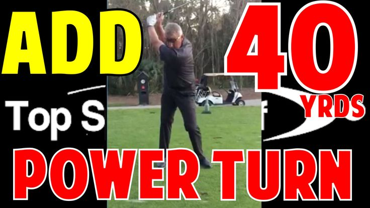 In this video, you'll learn how to add 40 yards with your power turn. My student Chris on the verge of cracking the senior tour. Watch to find out how!
