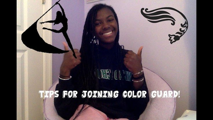 Tips for Joining Color Guard - YouTube