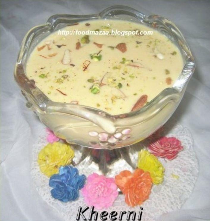 Sindhi Food Mazaa: KHEERNI (Sindhi Sabudana Kheer)