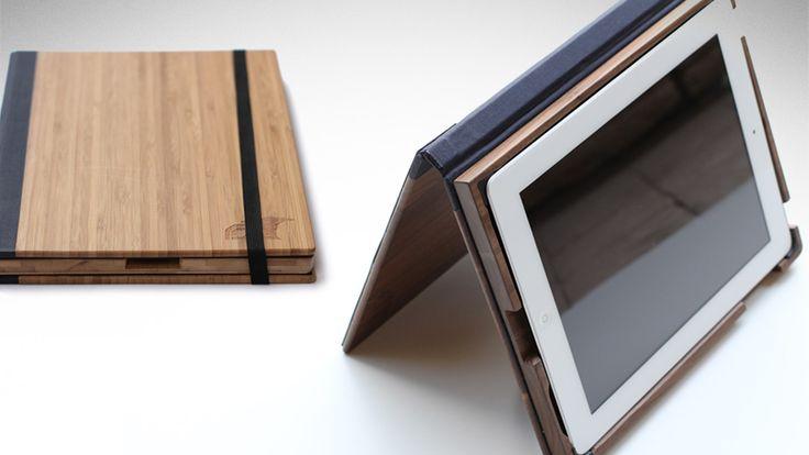 Root Wood iPad Case