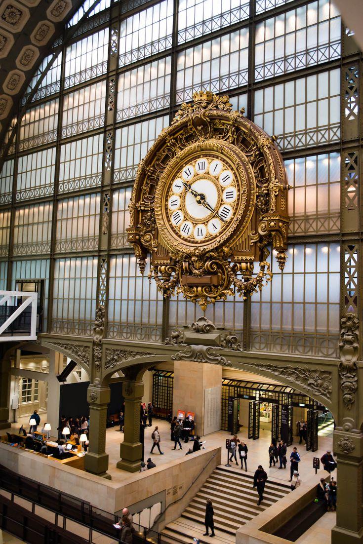 Musée D'Orsay Clock Marie-Louise Jansson
