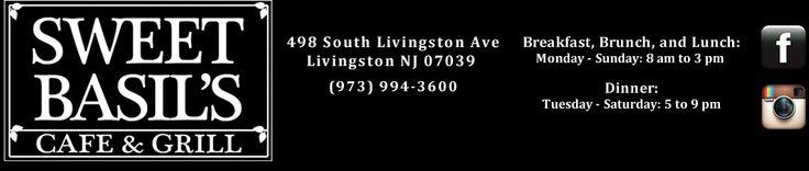 Sweet Basil's Cafe - Livingston, NJ Restaurant, Essex County
