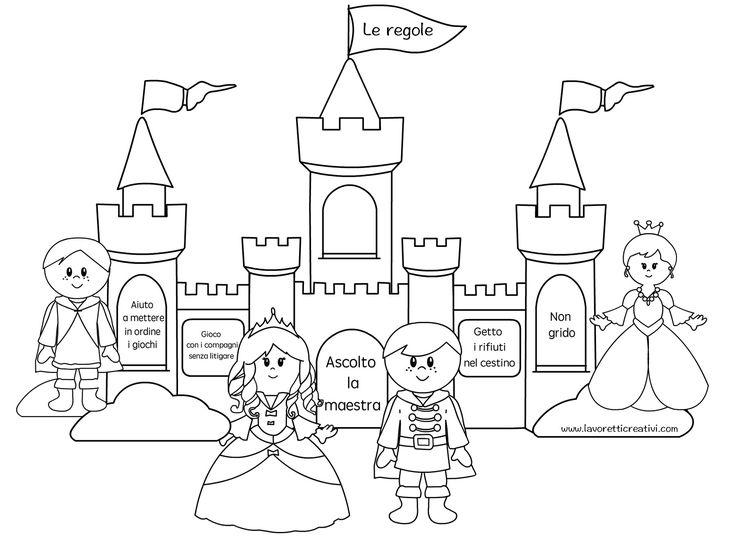 castello regole principesse