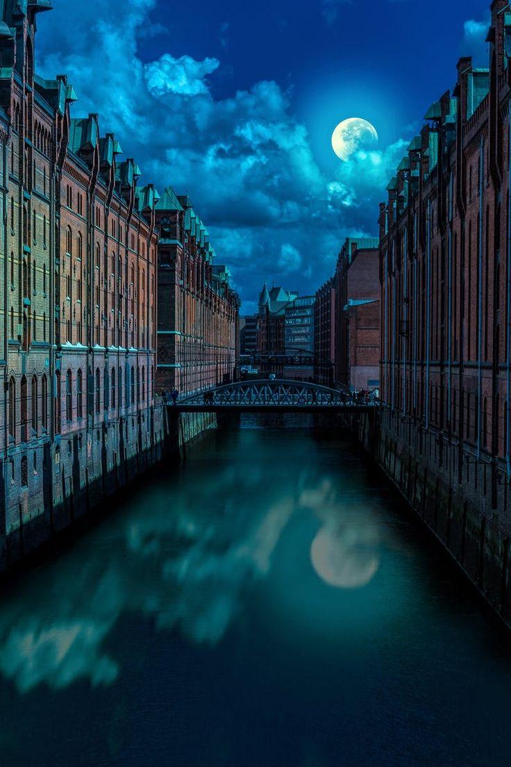 Free stock photo of city, landmark, night, water