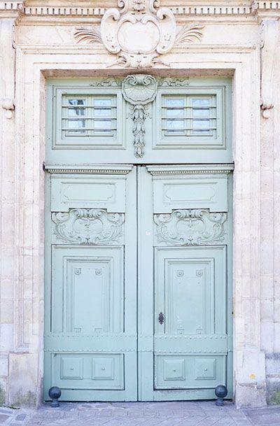 Lovely Clusters - Beautiful Shops: A Grand Entrance, Paris Door Fine Art Photograph