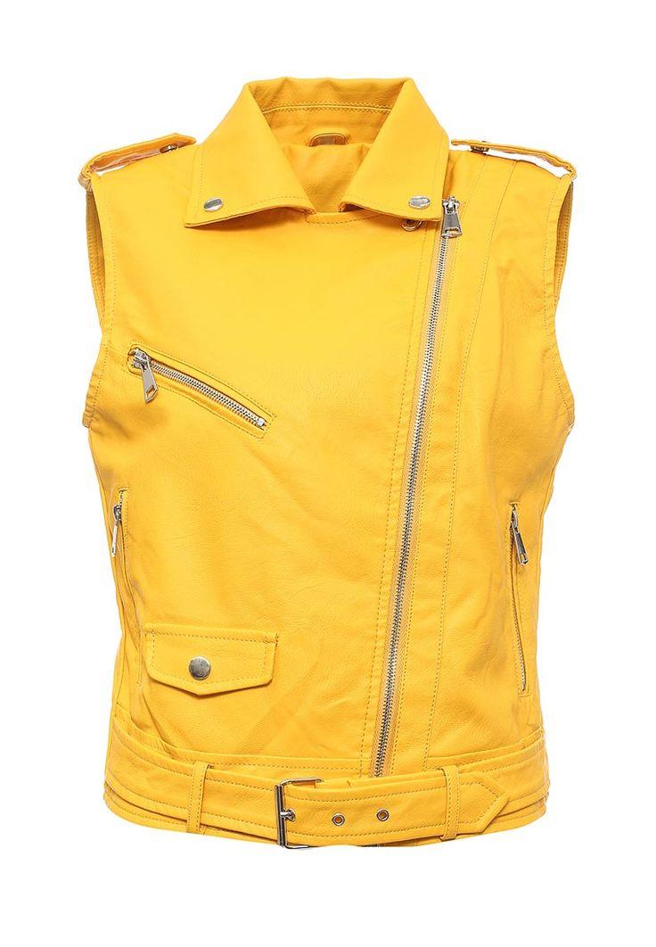 Жилет кожаный B.Style купить за 3 350 руб BS002EWQOA84 в интернет-магазине Lamoda.ru
