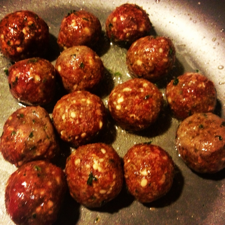 Deer meat speggetti meat balls | MEAT Beef/Chicken/Lamb/Pork/Fish | P ...