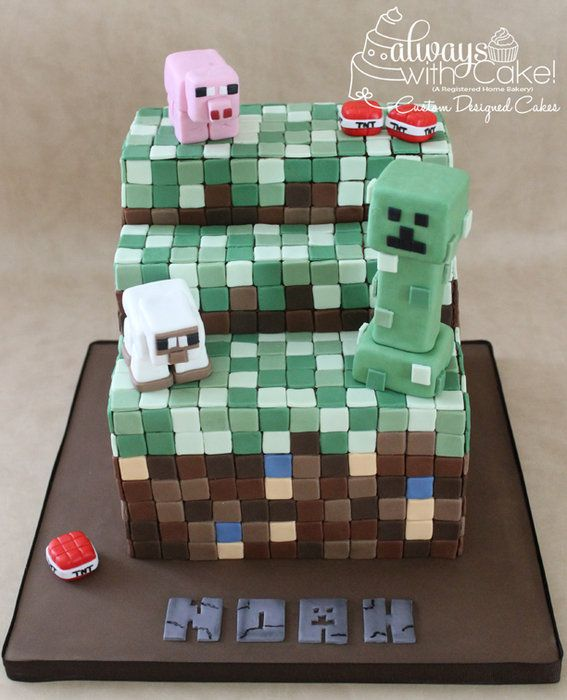 Minecraft Cake Decorations Uk : 1000+ images about Minecraft cakes -Alex on Pinterest ...