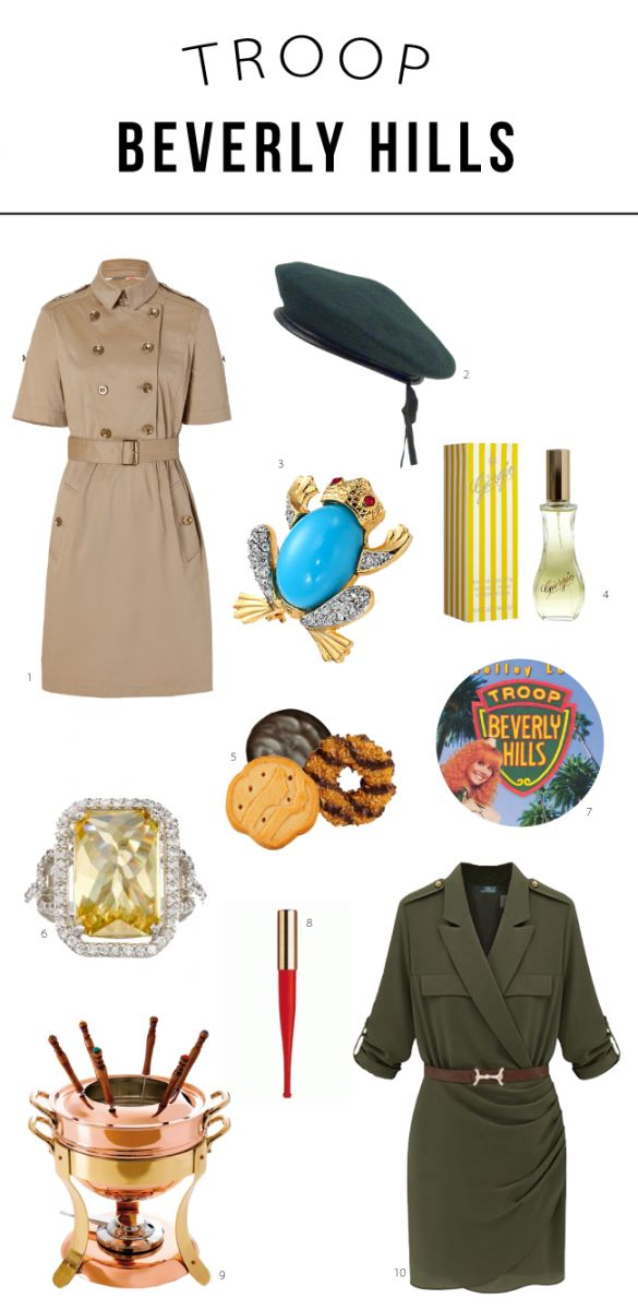 Troop Beverly Hills Style • The Fashion Fuse