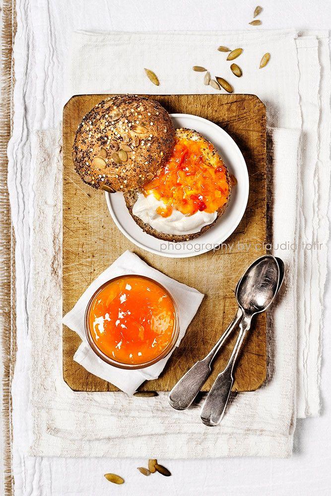 #Orange preserves #food #breakfast