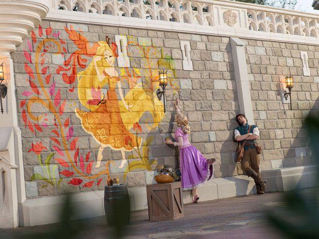 Disney Face Characters Rapunzel x Flynn