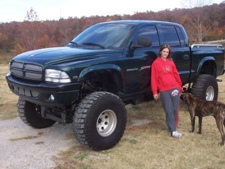 "lifted dodge dakota truck | 2000 Dodge Dakota Regular Cab & Chassis ""little foot"" - Pleasant ..."