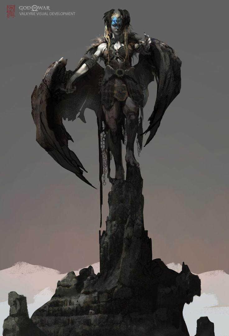 Vance Kovacs on Twitter God of war, Concept art