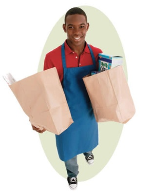 My humble beginnings as a courtesy clerk (bag boy) it built - courtesy clerk