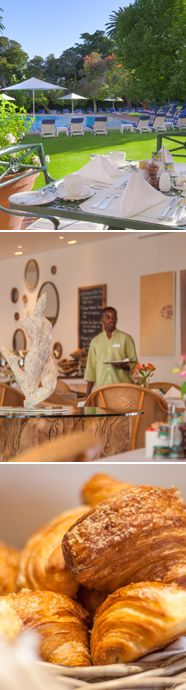 Win breakfast or lunch for you and a friend at Oasis Bistro at the Mount Nelson Hotel