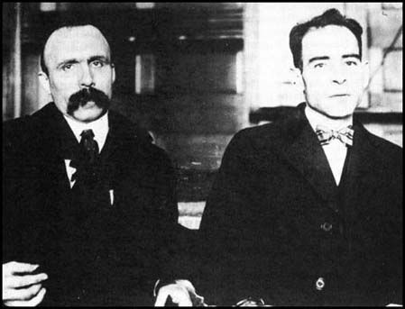 May 5, 1920  Authorities arrest Nicola Sacco and Bartolomeo Vanzetti for alleged robbery and murder.