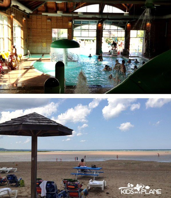 Plunge! Aquatic Centre and Blue Mountain Beach -  Must Do Summer Activities for Kids at Blue Mountain Resort in Collingwood, Ontario  #familytravel #travel #ontario #canada