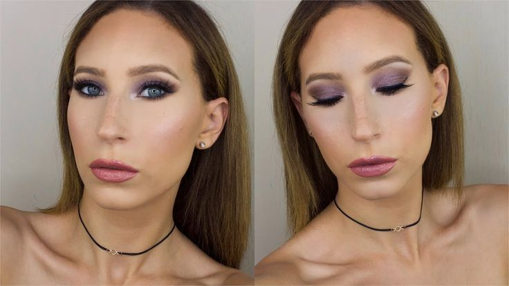 Lilac Makeup Tutorial | Giulia Bencich