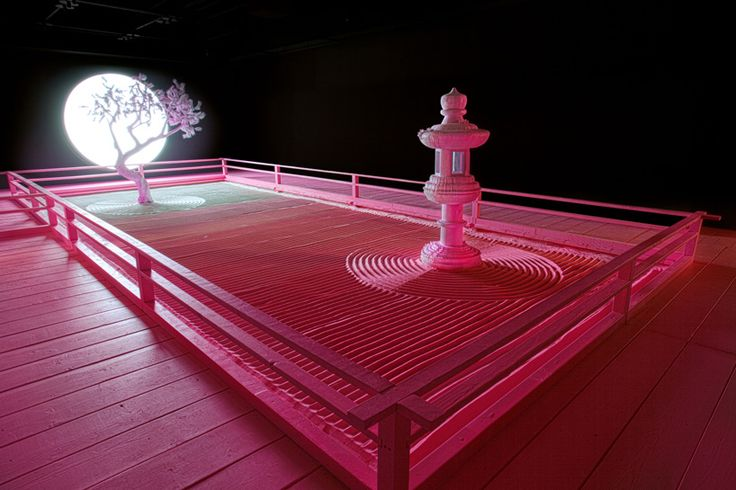 Night Zen Garden by Daniel Arsham – Fubiz Media