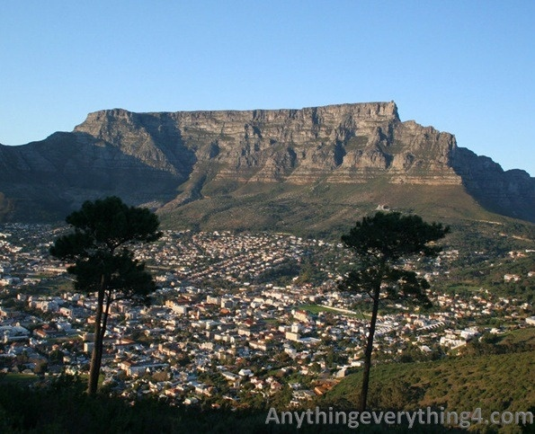 Table Mountain, South Africa – an unforgettable landmark