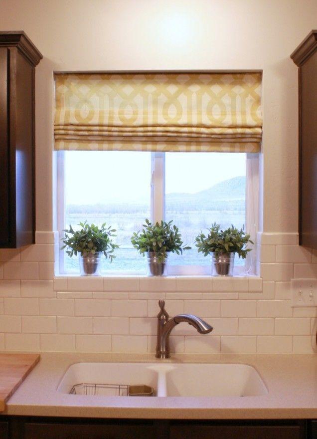 1000 ideas about small window treatments on pinterest corner window treatments small windows - Kitchen curtain ideas small windows ...