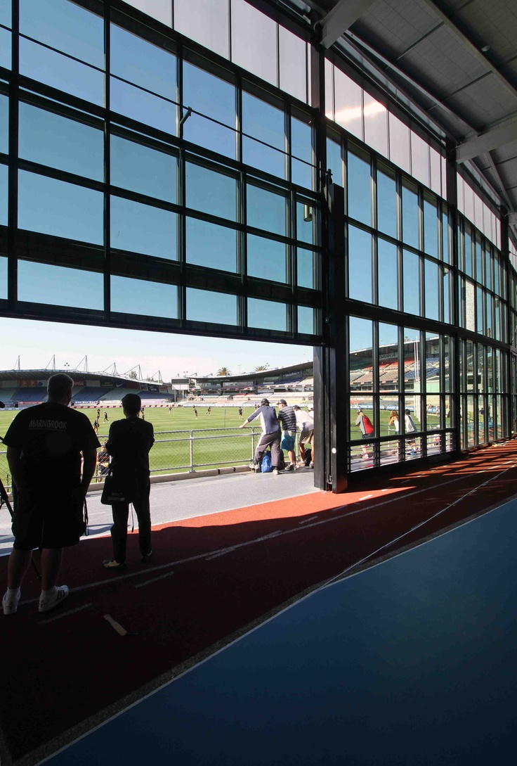 Carlton Football Club -  View from training facility out onto grounds