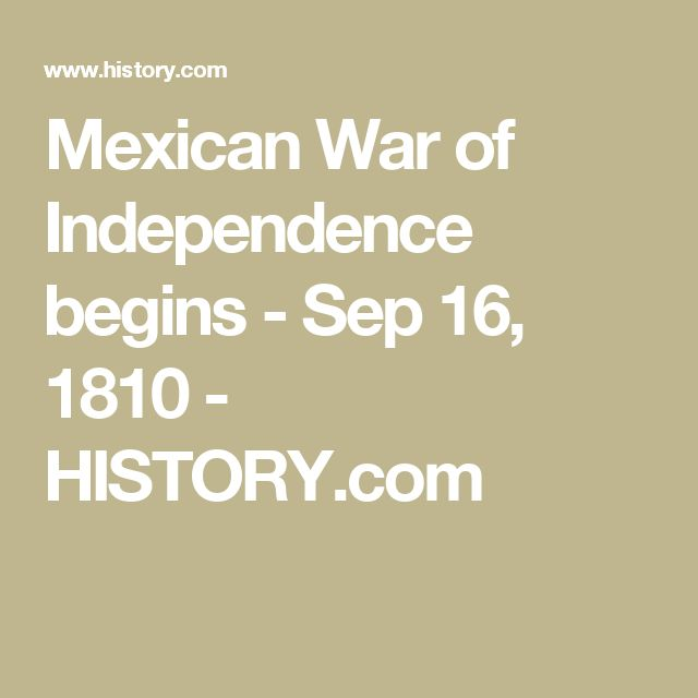 mexican war of independence essay Ap® united states history 2015 scoring ap® united states history 2015 scoring guidelines and/or followed the mexican-american war • essays earn 2 points.