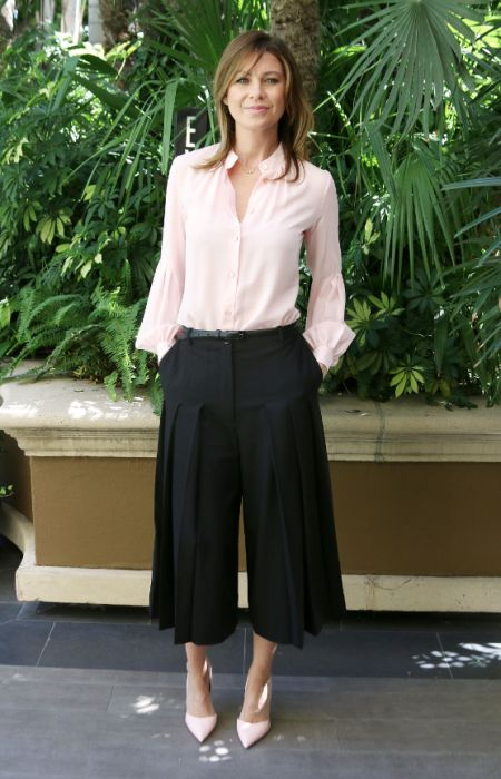 Celebrities Show You How To Wear Culottes: Ellen Pompeo
