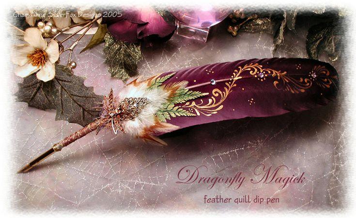 Stunning quill pen!