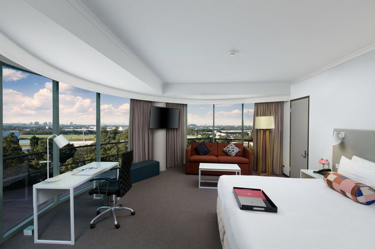 The aptly named Panorama Suite at #Rydges Parramatta features the best views in the hotel.
