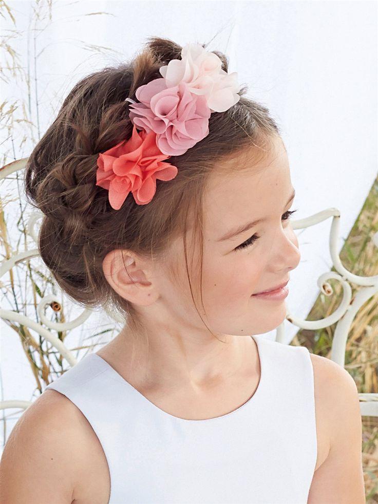 Les 17 meilleures images propos de coiffure enfant mariage sur pinterest fleurs en feutre - Coiffure mariage fille d honneur ...