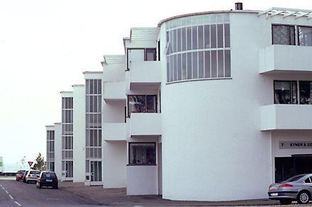 Bellavista housing estate, Klampenborg (Denmark), Arne Jacobsen, 1934