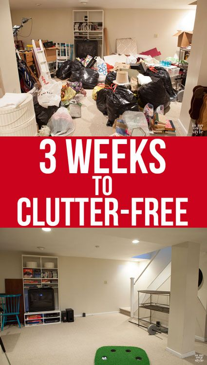 how to declutter a basement and clutter - How Do I Declutter My House