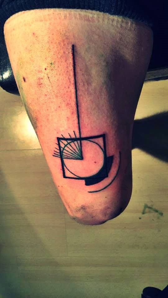 Geometri tattoo