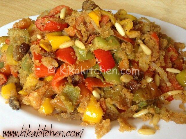 Peperoni con la mollica (ricetta siciliana) | Kikakitchen