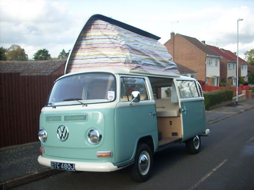 1971 VW Campervan Dormobile - Bare metal refurb & brand new interior