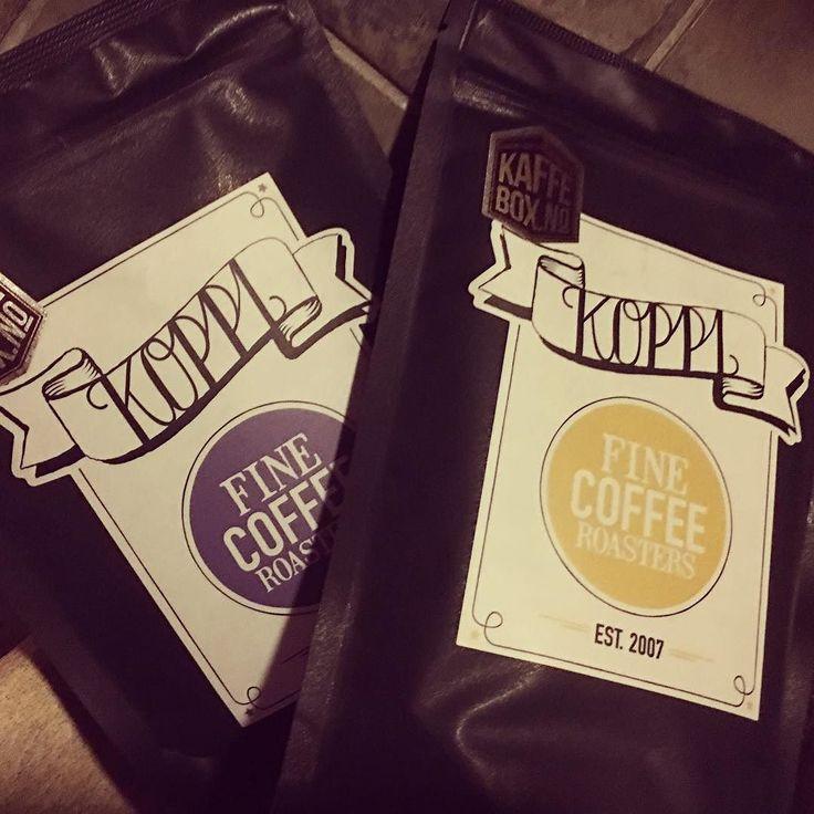 Gleder meg til å teste månedens fra #kaffebox #koppi by itjelta
