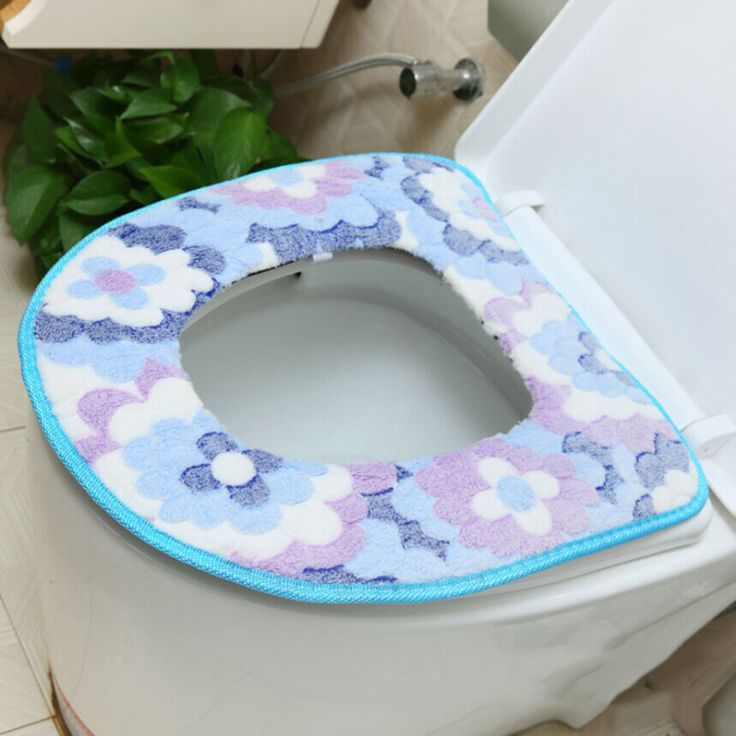 Royal Blue Toilet Seat Cover Velcromag
