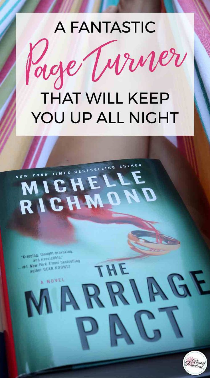 Thanks to Neena of Almost Practical for this great review! (And yes, The Marriage Pact goes great with shades). The Marriage Pact by Michelle Richmond is a spine chilling page turner that will keep up into the wee hours of the night. One of the must read books of the summer. via @AlmostPractical
