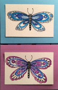 how to draw beautiful butterflies step by step