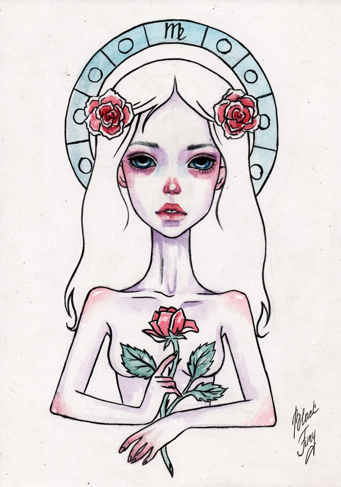 virgo by BlackFurya