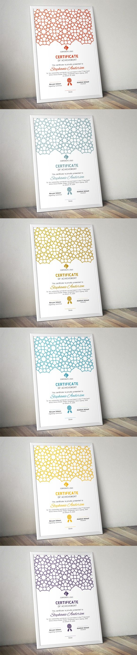 Islamic certificate template (docx). Stationery Templates. $5.00