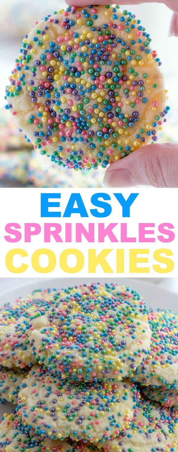 Super quick and delicious these Easy Sprinkles Cookies are quick to whip up and are a fun treat to have around the house! So there is no denying that Easter is coming up. I totally haven't been in the groove of punching out holiday content this last year. I mean[Read more]