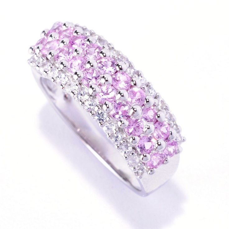 Gem Treasures - SHOP NBC  Pink and White Sapphires