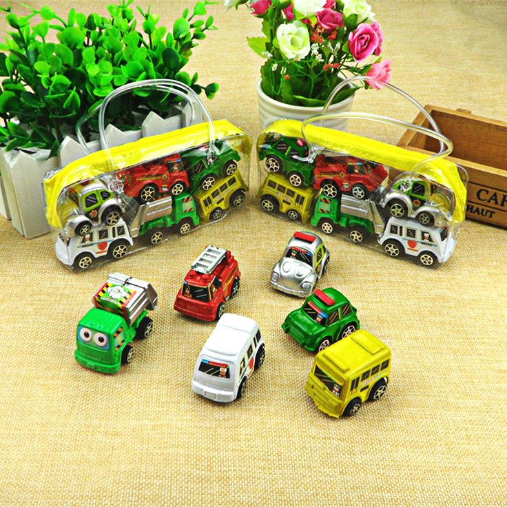 6pcs/lot  Hot Wheels Car 100% Original Basic Car Toy Mini Alloy Collectible Model  Pull Back Cars Toy For Children Boys Gift