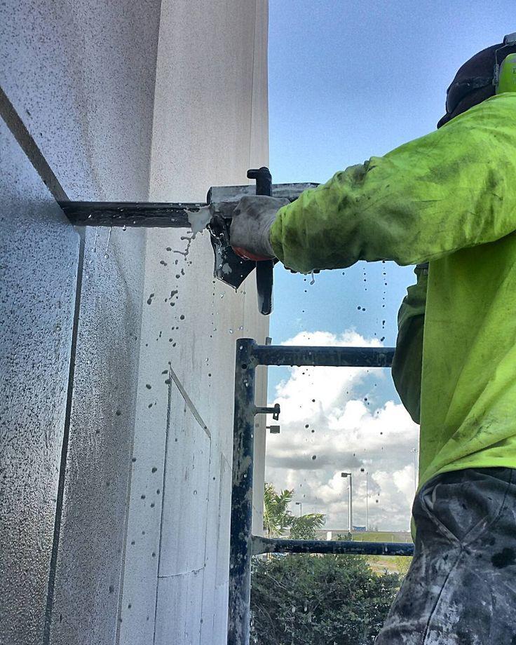 Chain Sawing  #concretecutting #miami #flaglerstation #construction #constructionsite #demolition #concrete #concretecuttingmiami #florida #concretelife #concreteconnection #chainsaw