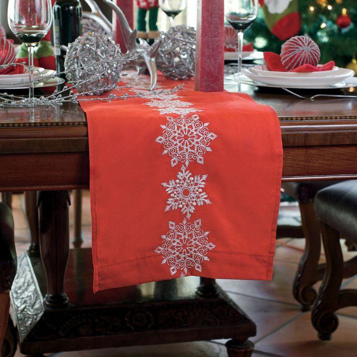 9 best Caminos de mesa y carpetas images on Pinterest Holiday