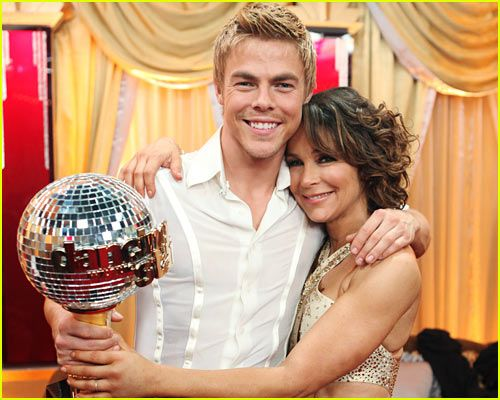 Season 11 winners: Jennifer Grey & Derek Hough  (Definitely not my favorite...I was rooting for the youngsters, Kyle and Bristol)