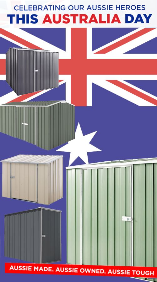 Australia Day is next week, how do you plan on celebrating the day?? For us as a business, its the time of year we celebrate and hero our Aussie made steel sheds. They are still the best in the world for quality and design and we are damn proud of them. Check out some of our heroes> https://www.cheapsheds.com.au/aussie-heroes #Australiaday #Australiaday2018 #australianmade #aussiemade